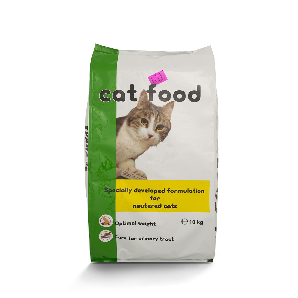 Храна за кастрирани котки ХИТ
