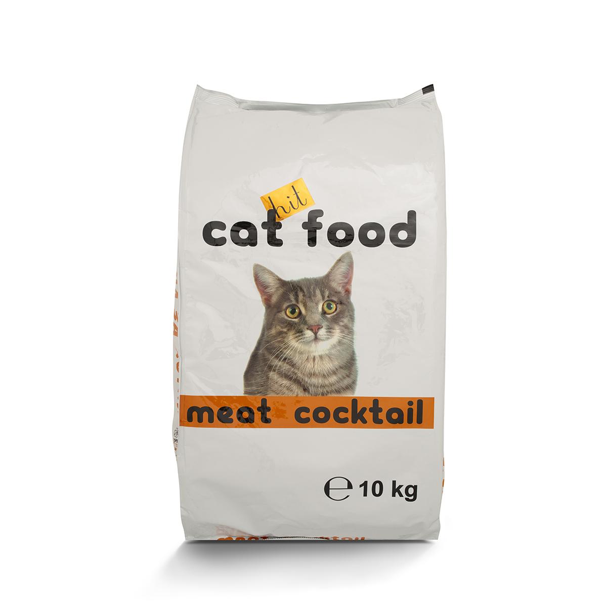 Храна за котки ХИТ Месен коктейл